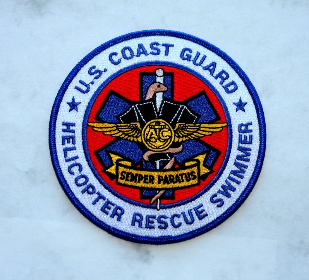 US Coast Gaurd Rescue Swimmer