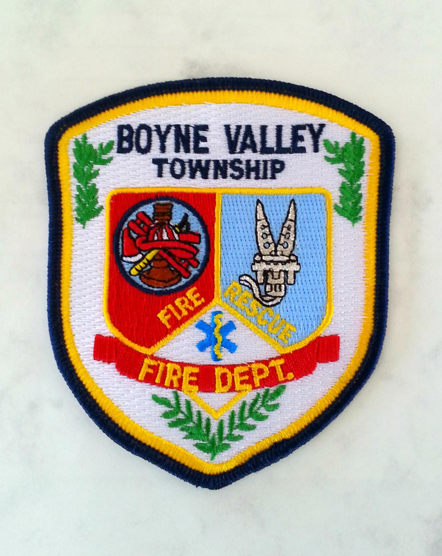 Boyne Valley Fire, Charlevoix County Mich