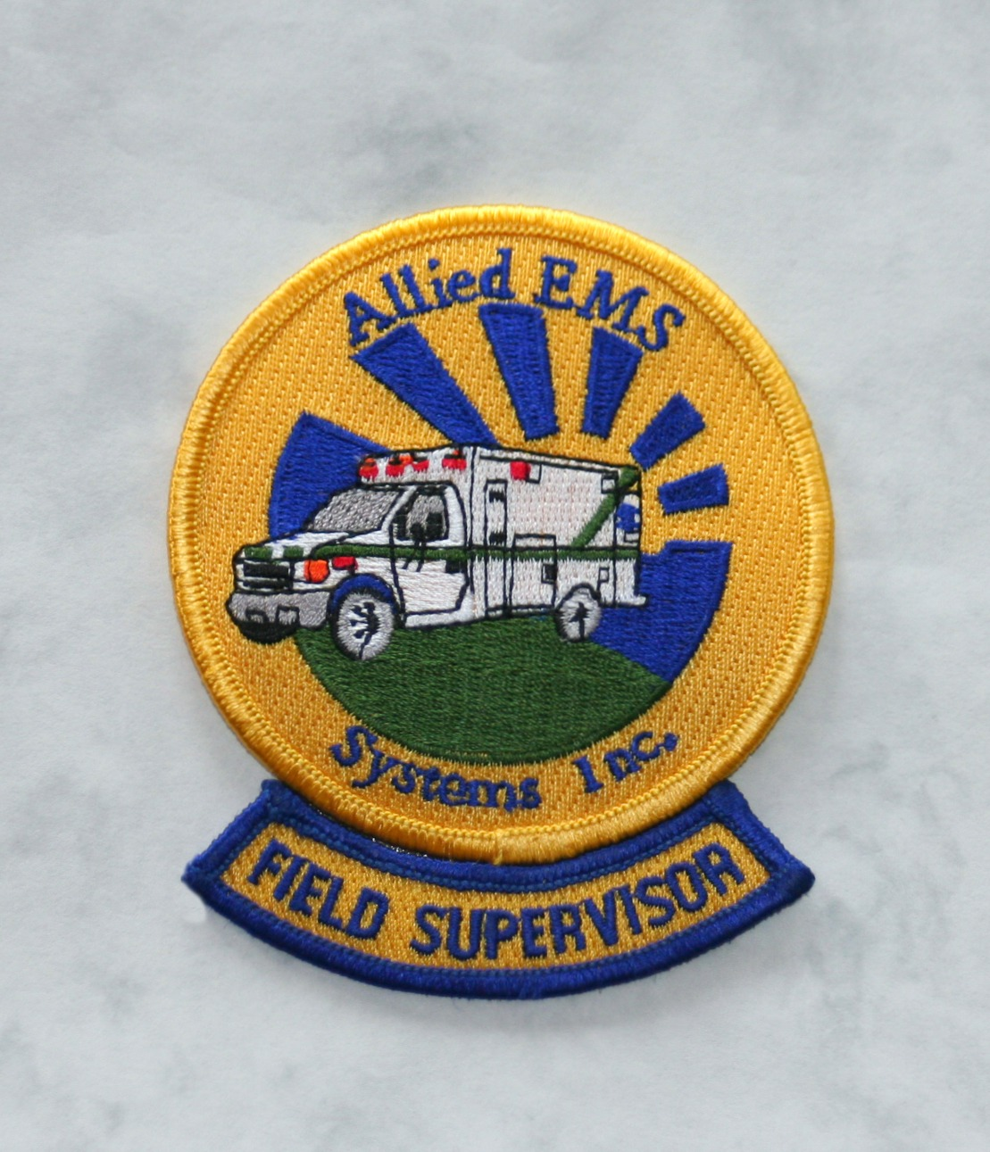 Allied EMS Field Supervisor, old style