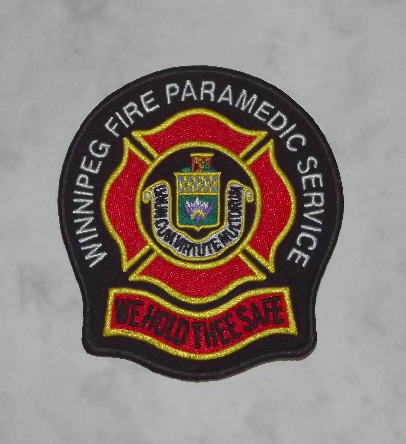 Winnipeg Fire Dept, Canada