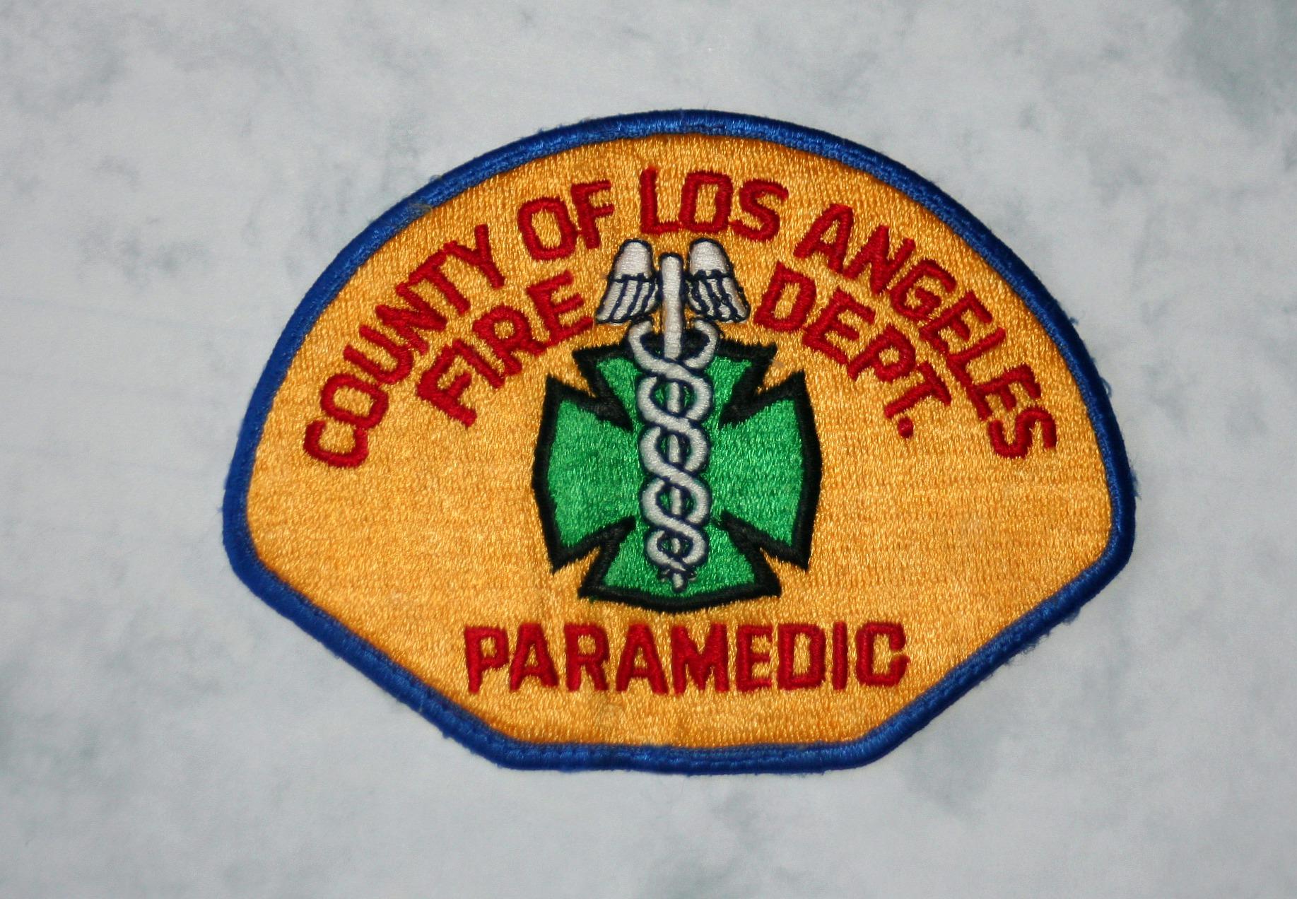 Los Angeles Fire Dept Paramedic