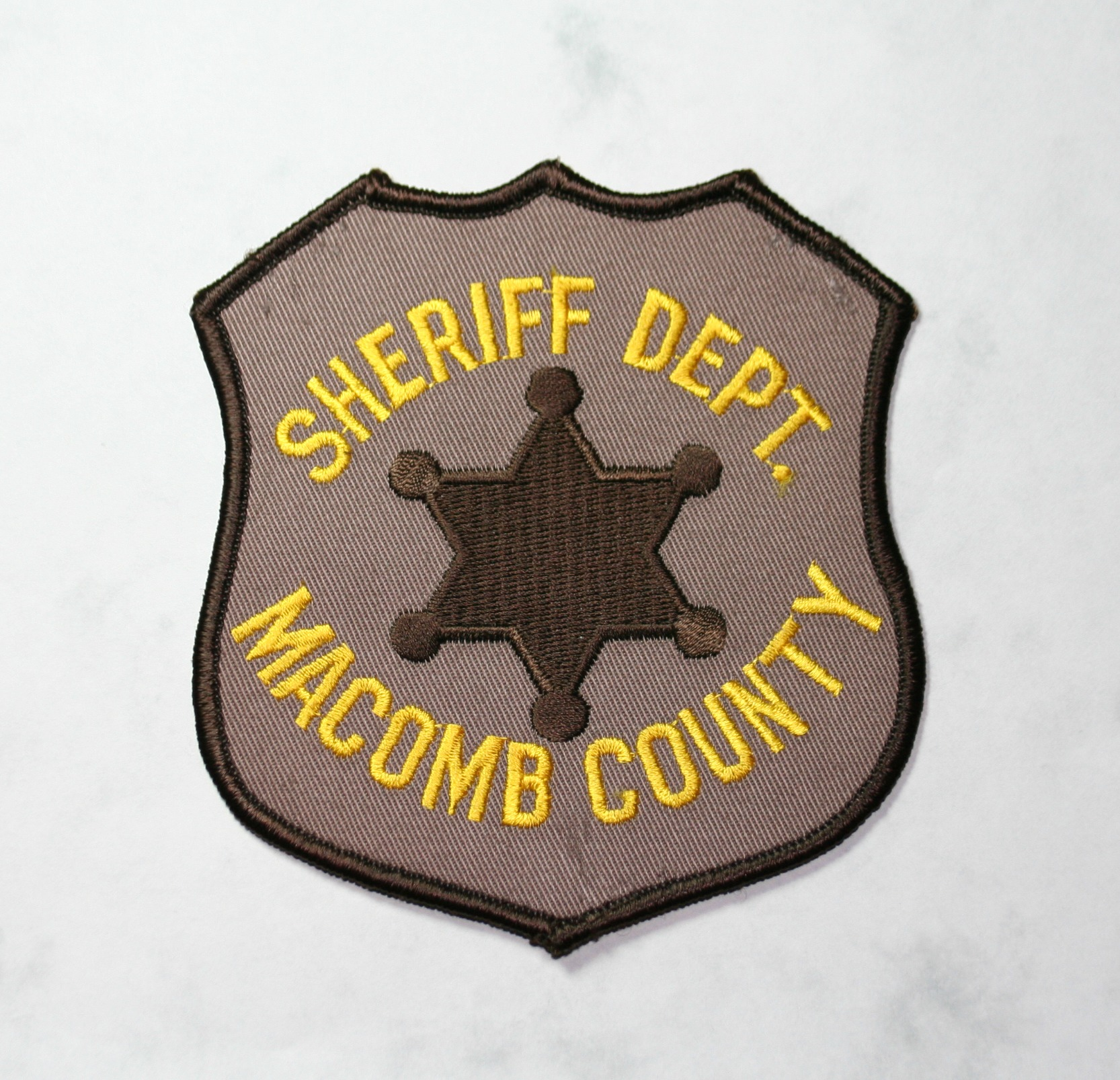 Macomb Co. Sheriff, old