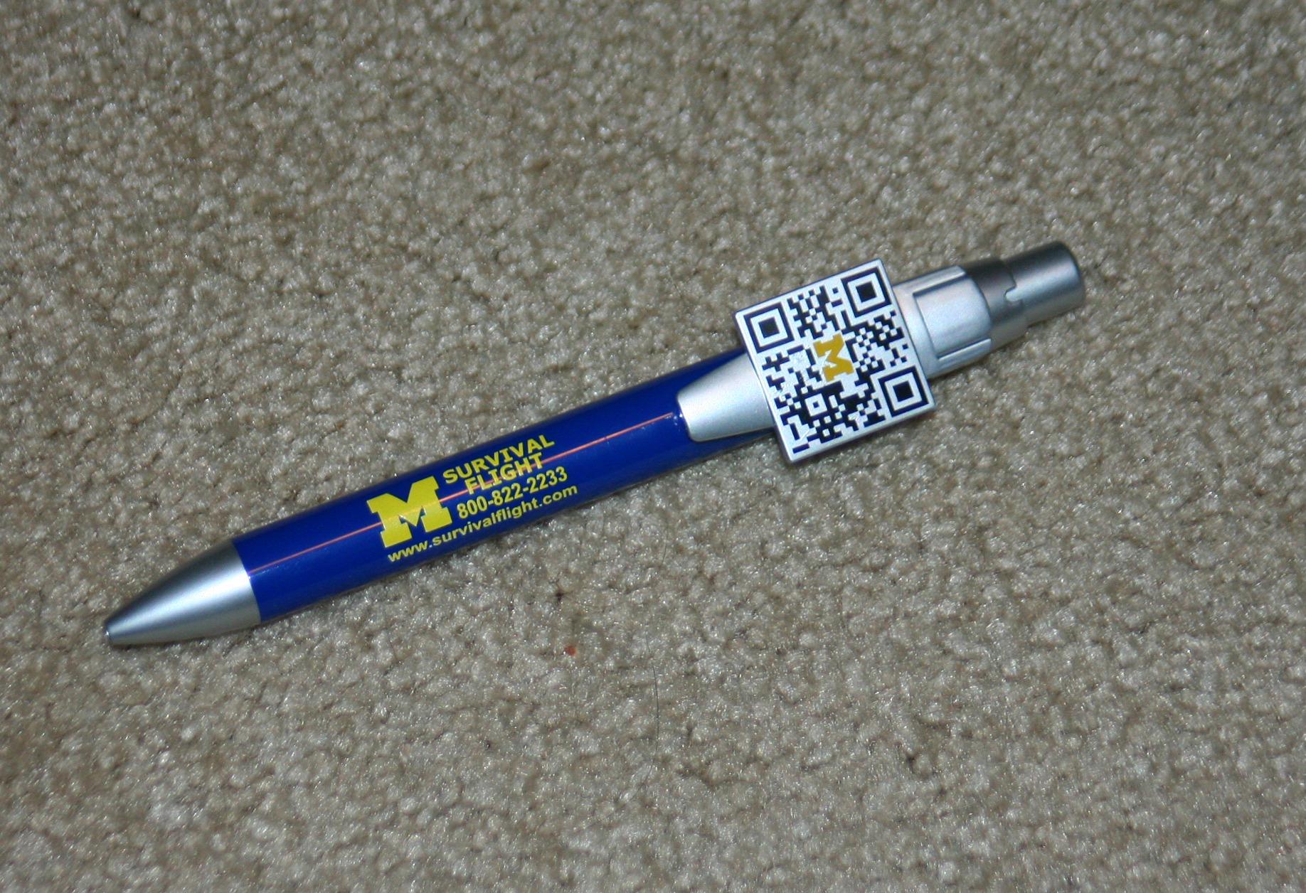 U of M pin, Ann Arbor Mi.