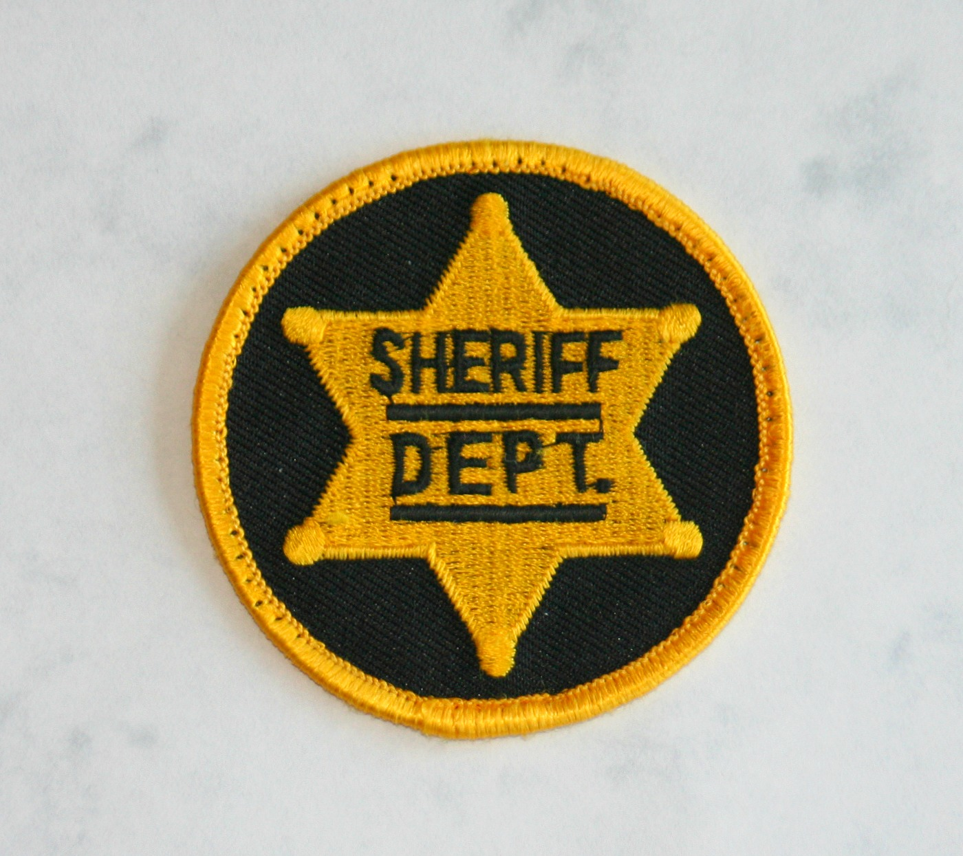 Michigan Sheriff, small patch. 2.5 inches