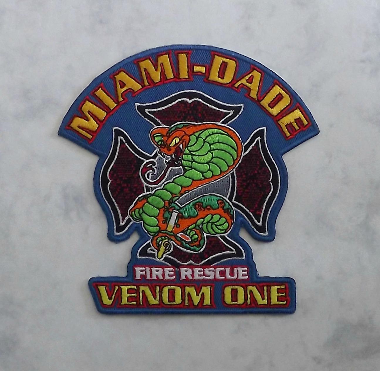 Miami-Dade Fire Rescue, Venom One (close up)